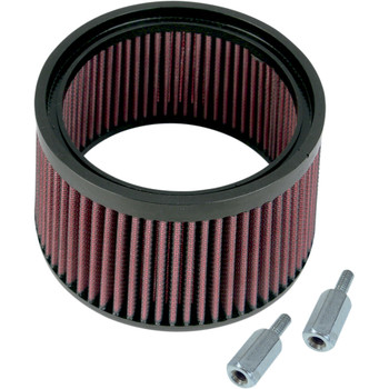 """S&S Stealth 1"""" Taller Hi-Flo Air Filter for S&S Stealth Air Cleaners on Harley Models"""