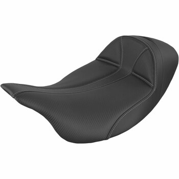 Saddlemen Dominator Low Solo Seat for 2008-2021 Harley Touring