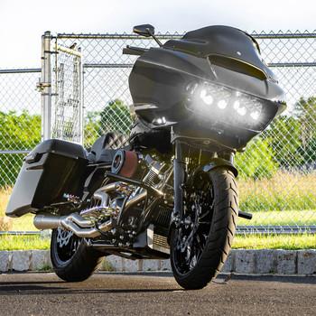 Complete Baja LP6 Pro-LED Light Kit for 2015-2021 Harley Road Glide