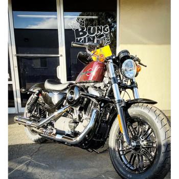 Bung King Forward Control Highway Peg Crash Sky Bar for Harley Sportster