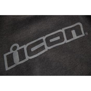 Icon Slant Crewneck - Gray
