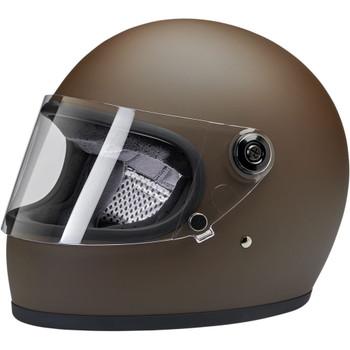 Biltwell Gringo S DOT/ECE Helmet - Flat Chocolate