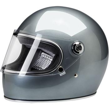 Biltwell Gringo S DOT/ECE Helmet - Metallic Sterling