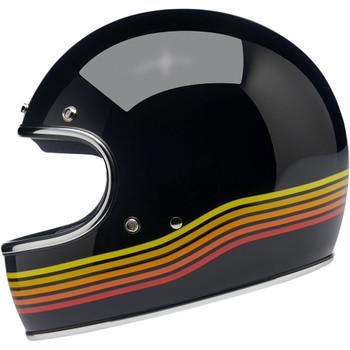 Biltwell Gringo ECE Helmet - Gloss Black Spectrum