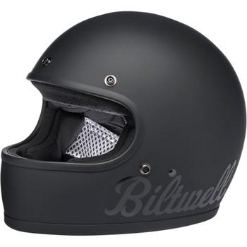Biltwell Gringo ECE Helmet - Flat Black Factory