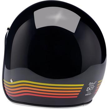 Biltwell Bonanza Helmet - Gloss Black Spectrum
