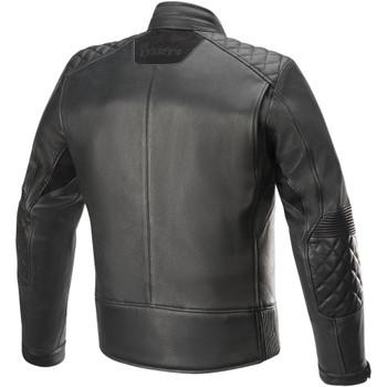 Alpinestars Hoxton V2 Leather Jacket - Black