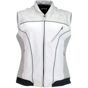 Z1R Women's Nufem Leather Vest