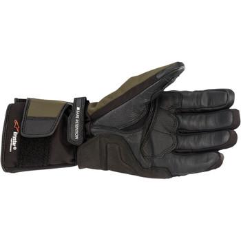 Alpinestars Denali Aerogel Drystar Gloves - Gray/ Flo Yellow
