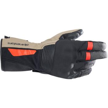 Alpinestars Denali Aerogel Drystar Gloves - Black/Tan/Red