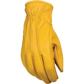 Z1R Deerskin Gloves - Tan