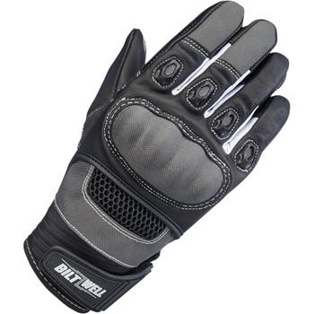 Biltwell Bridgeport Gloves - Gray/Black