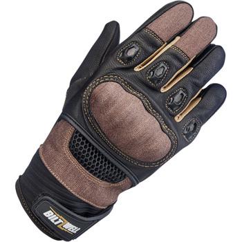 Biltwell Bridgeport Gloves - Chocolate/Black