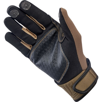 Biltwell Baja Gloves - Chocolate/Black