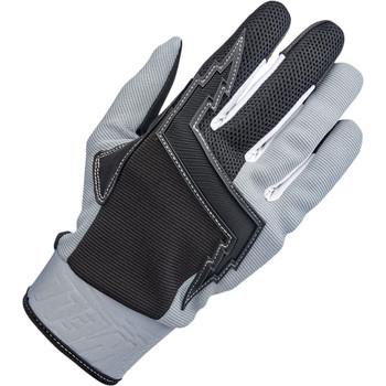 Biltwell Baja Gloves - Gray/Black