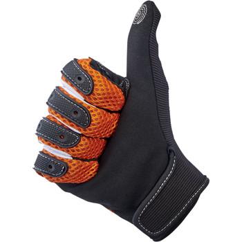 Biltwell Anza Gloves - Orange/Black