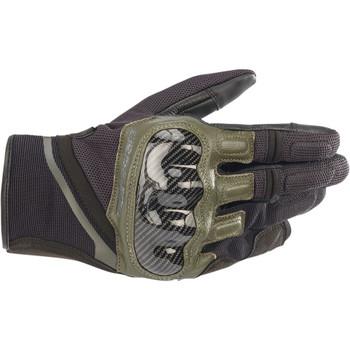 Alpinestars Chrome Gloves - Black/Green