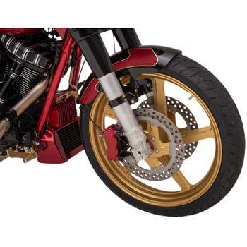Alloy Art 49mm Lower Legs for 2014-2020 Harley Touring - Clear