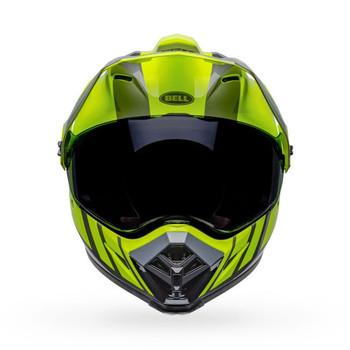 Bell MX-9 Adventure MIPS Helmet - Dash Hi-Viz/Gray