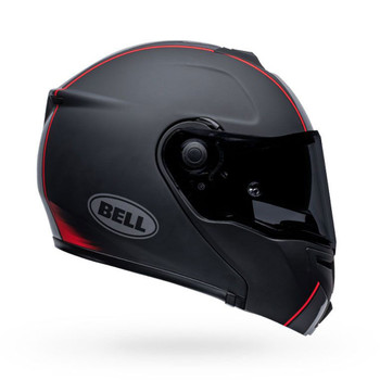 Bell SRT Modular Helmet - Hart Luck Jamo Matte/Gloss Black/Red
