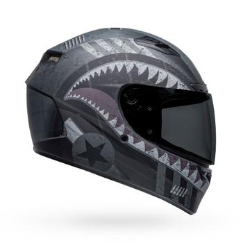 Bell Qualifier DLX MIPS Helmet - Devil May Care Matte Black/Gray