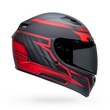Bell Qualifier DLX MIPS Helmet - Raiser Matte Black/Crimson