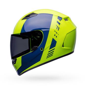 Bell Qualifier Helmet - Turnpike Hi-Viz/Navy