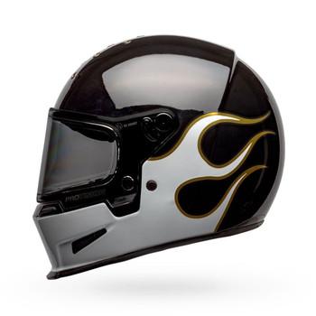 Bell Eliminator Helmet - Stockwell Gloss Black/White