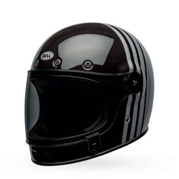 Bell Bullitt Helmet - Reverb Gloss Black/Silver Flake