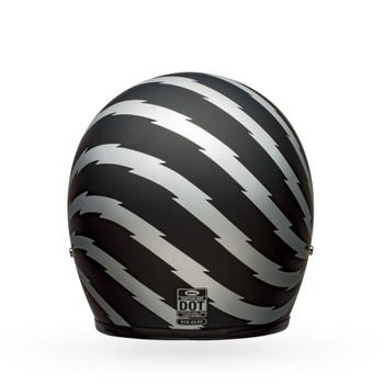 Bell Custom 500 Helmet - Vertigo Matte Black/Silver