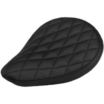 Sully's Customs Diamond Stitch Solo Seat - Black