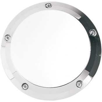 Joker Machine Smooth Derby Cover for 1999-2018 Harley Big Twin - Chrome