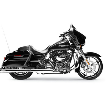 "Arlen Ness by MagnaFlow MegaCone Slip-Ons 2-1/2"" Exhaust Mufflers for 1995-2016 Harley Touring"