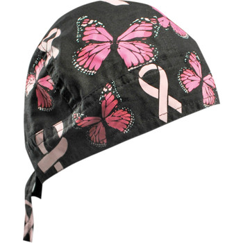 Zan Headgear Butterfly Breast Cancer Flydanna Headwrap