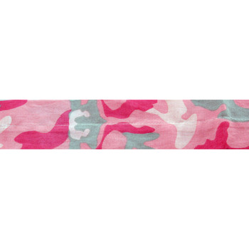 Zan Headgear Pink Camouflage Cooldanna