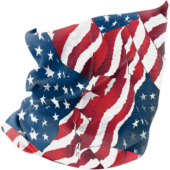 Zan Headgear Fleece-Lined Flag Motley Tube