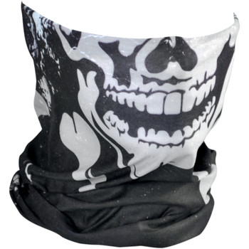 Zan Headgear Skull & Crossbones Motley Tube
