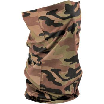 Zan Headgear Woodland Camouflage Motley Tube