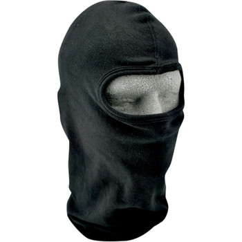 Zan Headgear Cotton Black Balaclava