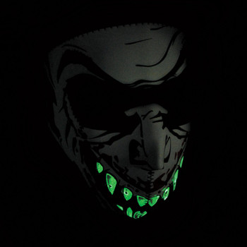 Zan Headgear Glow in the Dark Vampire Face Mask