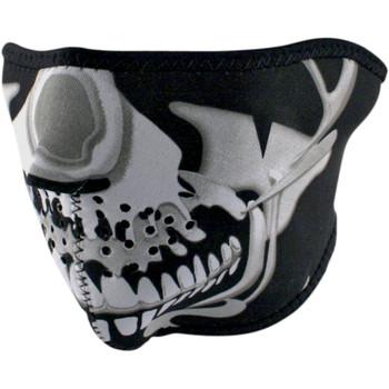 Zan Headgear Chrome Skull Face Masks