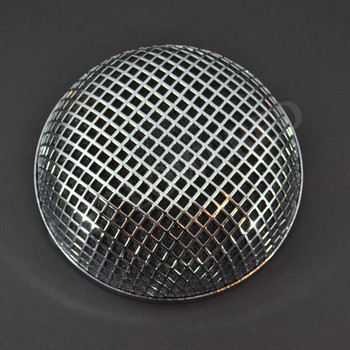 V-Twin Mfg. Chrome Round Mesh Air Cleaner