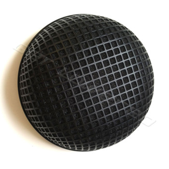 V-Twin Mfg. Black Round Mesh Air Cleaner