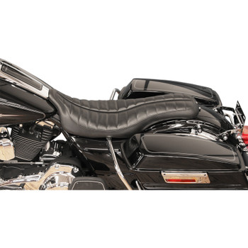 Roland Sands Flatout Enzo Seat for 2008-2020 Harley Touring - Black