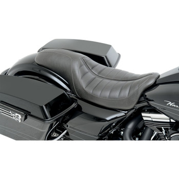 Roland Sands Enzo Touring 2-Up Seat for 2008-2020 Harley Touring - Black
