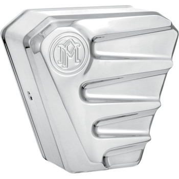 Performance Machine Scallop Horn Cover - Chrome