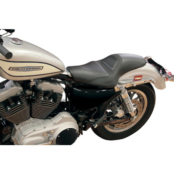 Roland Sands Avenger 2-Up Seat for 2004-2018 Harley Sportster