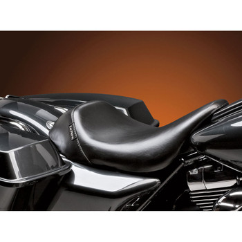 LePera Bare Bones Solo Seat for 2008-2020 Harley Touring - Smooth