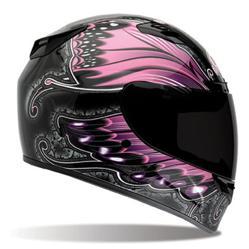 Bell Vortex Monarch Pink Helmet