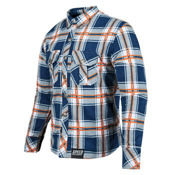 Speed and Strength Rust And Redemption™ Armored Moto Flannel Shirt